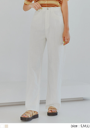 [BOTTOM] FORD WIDE LONG COTTON PANTS